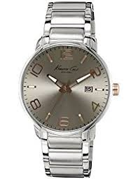 amazon co uk kenneth cole watches kenneth cole mens stainless steel siver dial kc9393