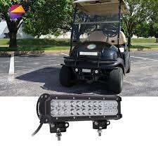 12 Volt Led Light Bar For Golf Cart Details About Universal Atv Utv Golf Cart 12 Inch Led Light Bar 72w Light Bar Led Light 12v