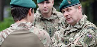 royal marines mando officer