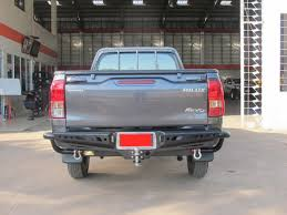 American style bullbar, side step, rear step bumper for Toyota ...