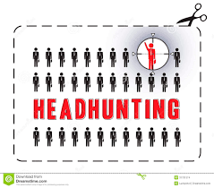 headhunting poster stock images image  headhunting poster