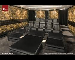 CINEAK Fortuny & Cosymo Home Theater modern-home-theater