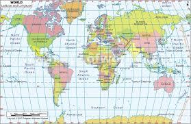 Calvin Klein Longitude Latitude Map