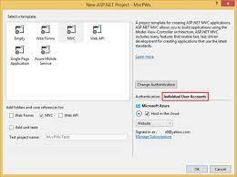 create a secure asp net mvc 5 web app