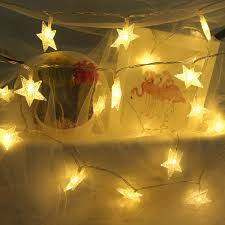 Star String Lights For Bedroom Veeca String Lights Star Fairy Lights Battery Operated With 40 Warm White Led Lights For Bedroom Decoration Festivals And Parties Batteries Included