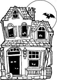 Image result for haunted house drawing simple ideas