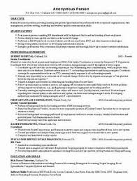 Human Resource Resume Examples - Gcenmedia.com - Gcenmedia.com