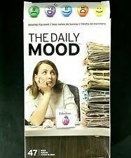 Emoji A Day A Daily Mood Flip Chart Fred The Daily Mood Desk Flipchart Book Office Joke Emojis