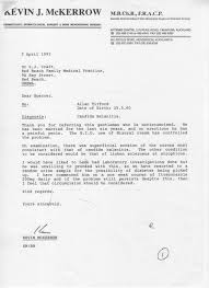 How To Get A Doctors Note For An Emotional Support Dog Doctors Letter Casts Doubt On 1987 Titford Rape
