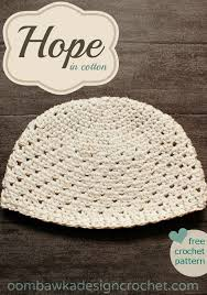 Chemo Cap Knitting Pattern Adorable Best Crochet Cotton Yarn Free Patterns Hope For Women In Cotton