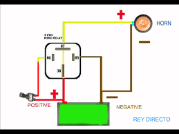 automotive horn wiring diagram automotive auto wiring diagram horn relay animation on automotive horn wiring diagram