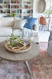 round coffee table and weekend s