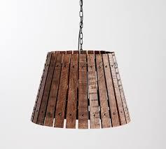 wine barrel pendant