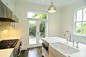 farmhouse sink in kitchen island view full size