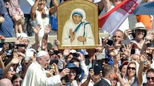 Mother Teresa declared a saint as Pope Francis lauds her in Vatican ...