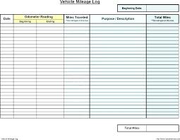 Km Log Sheet Mileage Template Free Buildbreaklearn Co