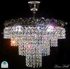 victoria 35cm made with swarovski spectra crystal lighting chandelier