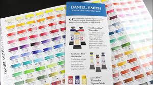 Understanding Daniel Smith Watercolor Ratings Chart