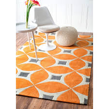 reliable turquoise and orange area rug palm canyon arcada handmade modern disco 5 x 8 plush