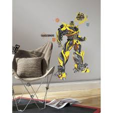 york wallcoverings 5 in x 19 in transformers age of extinction blebee giant l