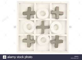 Wooden Naughts And Crosses Game Wooden noughts and crosses game board in gray and white colors and 69