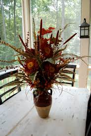 ... Lovely Silk Flower Arrangements For Dining Room Table : How To Arranging  Silk Flower On The