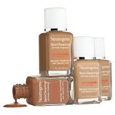 neutrogena skinclearing makeup 60 natural beige 1 fl oz walmart