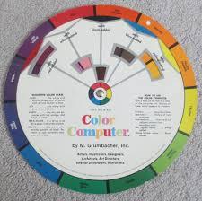 Color Computer M Grumbacher Inc 1977 Turn A Color
