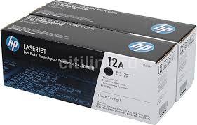 Купить <b>Картридж</b> (двойная упаковка) <b>HP Q2612AF</b>, черный в ...