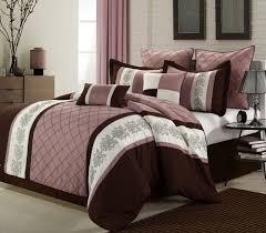 microfiber comforter sets queen luxury design bedroom livingston embroidered comforter set rose color bedding set microfiber