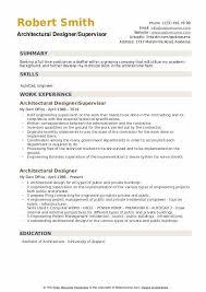 Architectural Designer Resume Job Description Architectural Designer Resume Samples Qwikresume