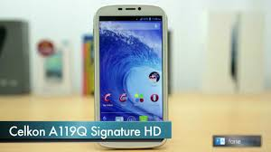 Celkon A119Q Signature HD Review - YouTube