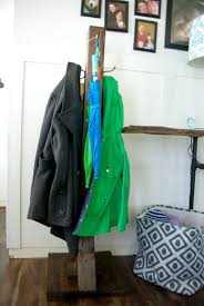 Diy Standing Coat Rack DIY Wood Coat Rack 40