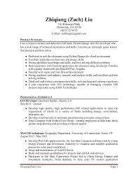 Resume-Python-Developer-ZachLiu. Zhiqiang (Zach) Liu Page 1 Zhiqiang (Zach)  Liu 541 Perimeter Walk Dunwoody ...