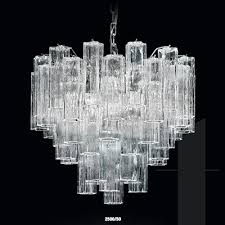 nova tronch 2500 50 italian murano glass chandelier finished in chrome or gold dia50cm x h45cm 5no e27