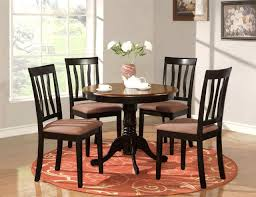 of round kitchen table sets 5 pc round table dinette kitchen table 4 chairs oak