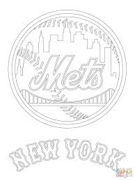 the new york mets logo coloring pages to view printable