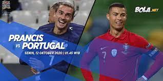 Baik portugal maupun prancis diyakini memiliki peluang 50 persen untuk bisa memenangi pertandingan. Prediksi Prancis Vs Portugal 12 Oktober 2020 Bola Net