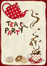 Kitchen Tea Party Invitation 8771 Tea Time Stock Illustrations Cliparts And Royalty Free Tea