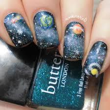Galaxy Nails by Ann Kristin - Paulina's Passions