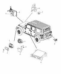 2017 jeep wrangler siren alarm system