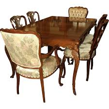 Country French Provincial S Dining Room Set By Joerns - French country dining room set