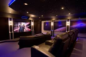 home theater art. theater in home contemporary with wall art reclining chairs