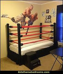 John Cena Wall DecalWrestling Theme Bedroom Decor And Wrestling Cool Wrestling Bedroom Decor