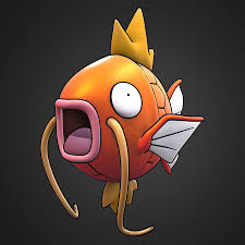 Magikarp Pokemon 3D Model $10 - .unknown .obj .lxo .fbx .dae - Free3D