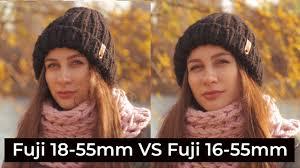 Сравнение <b>Fujifilm XF 16</b>-<b>55mm</b> f/2.8 и <b>Fujifilm XF</b> 18-55mm f/2.8-4