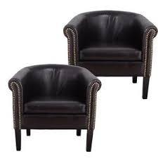 Black Leather Club Chair Black Leather Chair R12