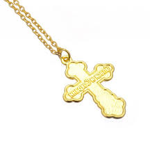 orthodox cute cross necklace k gold filled orthodox cross with blue enamel