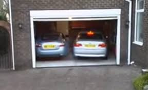 Man Drives His Car Inside The Garage But When He Steps Out Things