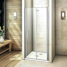 fold shower door folding glass doors best of beautiful ideas bi accordion frameless folding shower doors